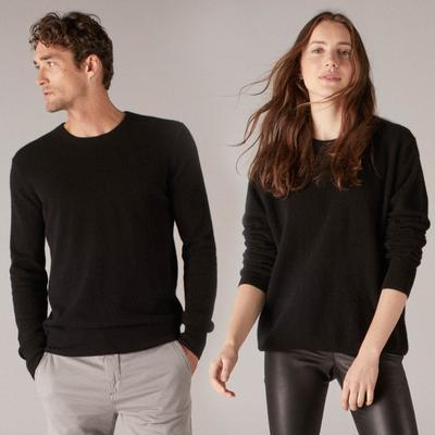 Black cashmere sweater the essential $75 cashmere sweater black DWYSDFS