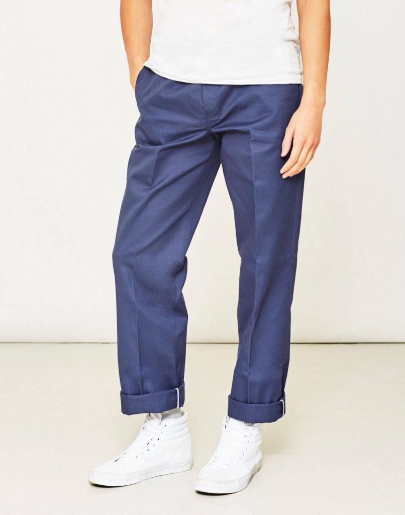 BLUE CHINOS dickies blue chinos mens QNKCKBP