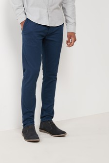 BLUE CHINOS stretch chinos ESVWPGH