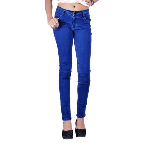 To style ladies blue jeans casual or elegant