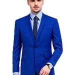 Blue men's suits – suitable for many occasions