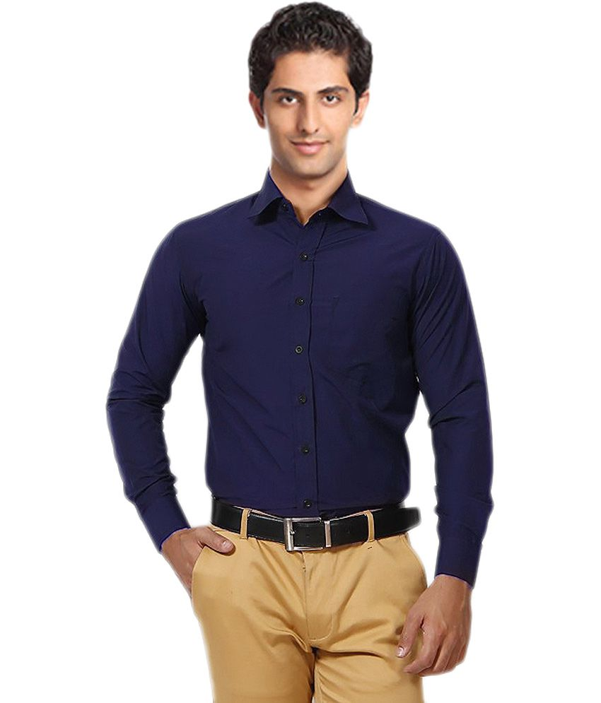 Blue Shirts for men unique for men navy blue shirt NJWCDSH