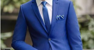 BLUE WEDDING SUITS classy blue wedding mens suits slim fit bridegroom tuxedos for men three  pieces groomsmen suit OZEXBSQ