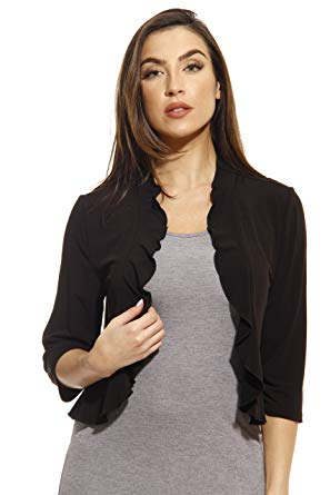 Boleros for Women just love 401572-blk-s shrug/shrugs / women cardigan FVOYQKK