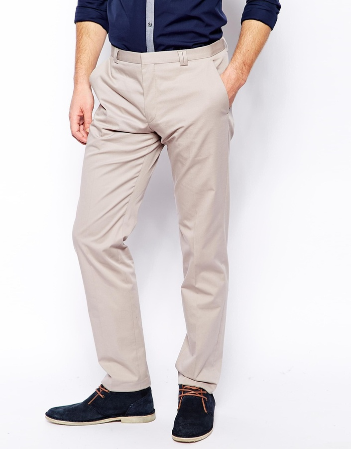 BOSS CHINO ... chinos hugo boss hugo by cotton trousers in slim fit black ODQFKTI