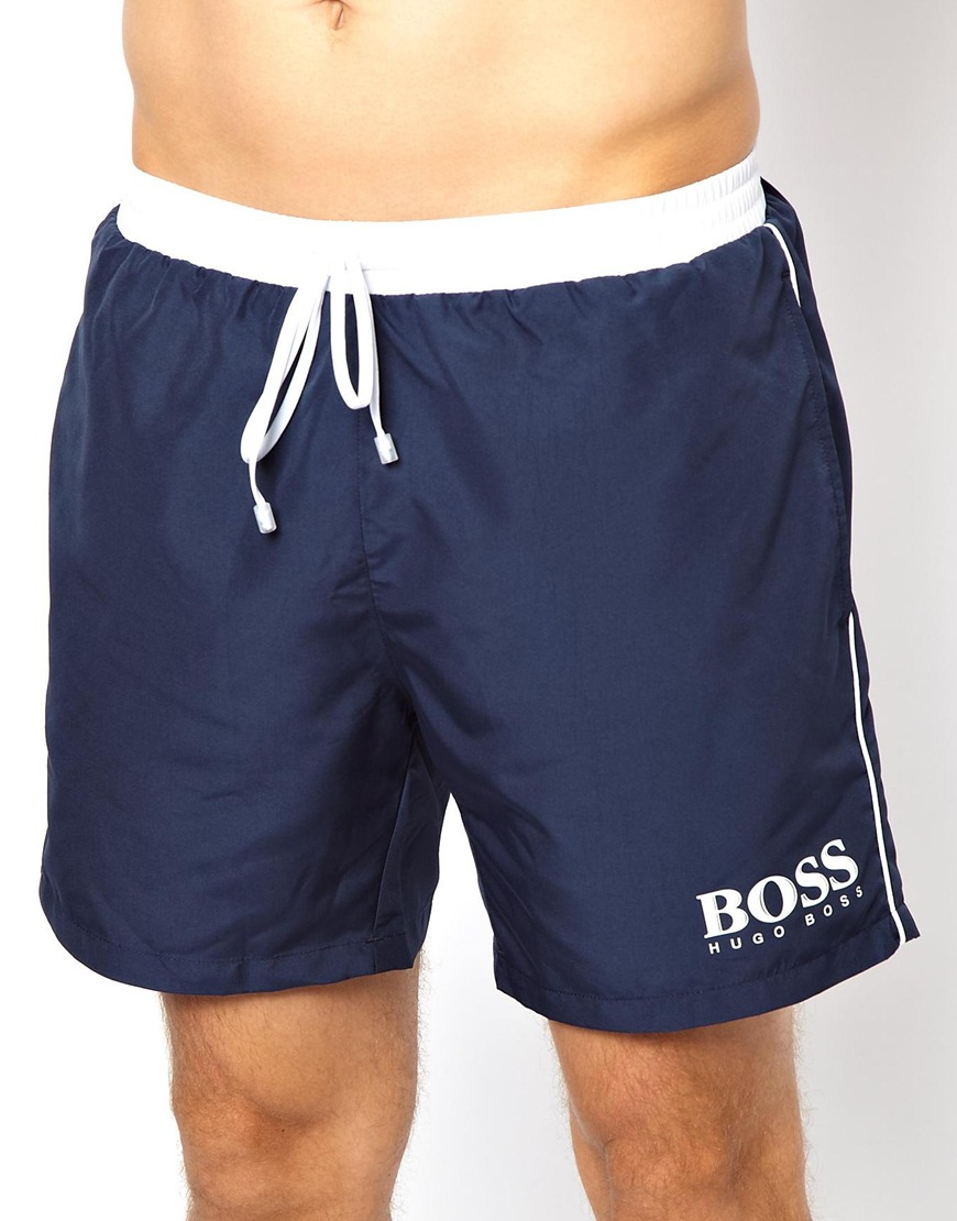 BOSS swimming shorts : from simple to eye-catching