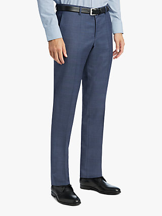 BOSS trousers hugo by hugo boss getlin suit trousers, blue RJGFPVL