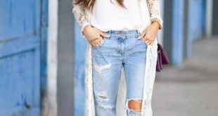Boyfriend Jeans Outfit Ideas how to wear boyfriend jeans (outfit ideas) 2018 | fashiontasty.com UKQWITP