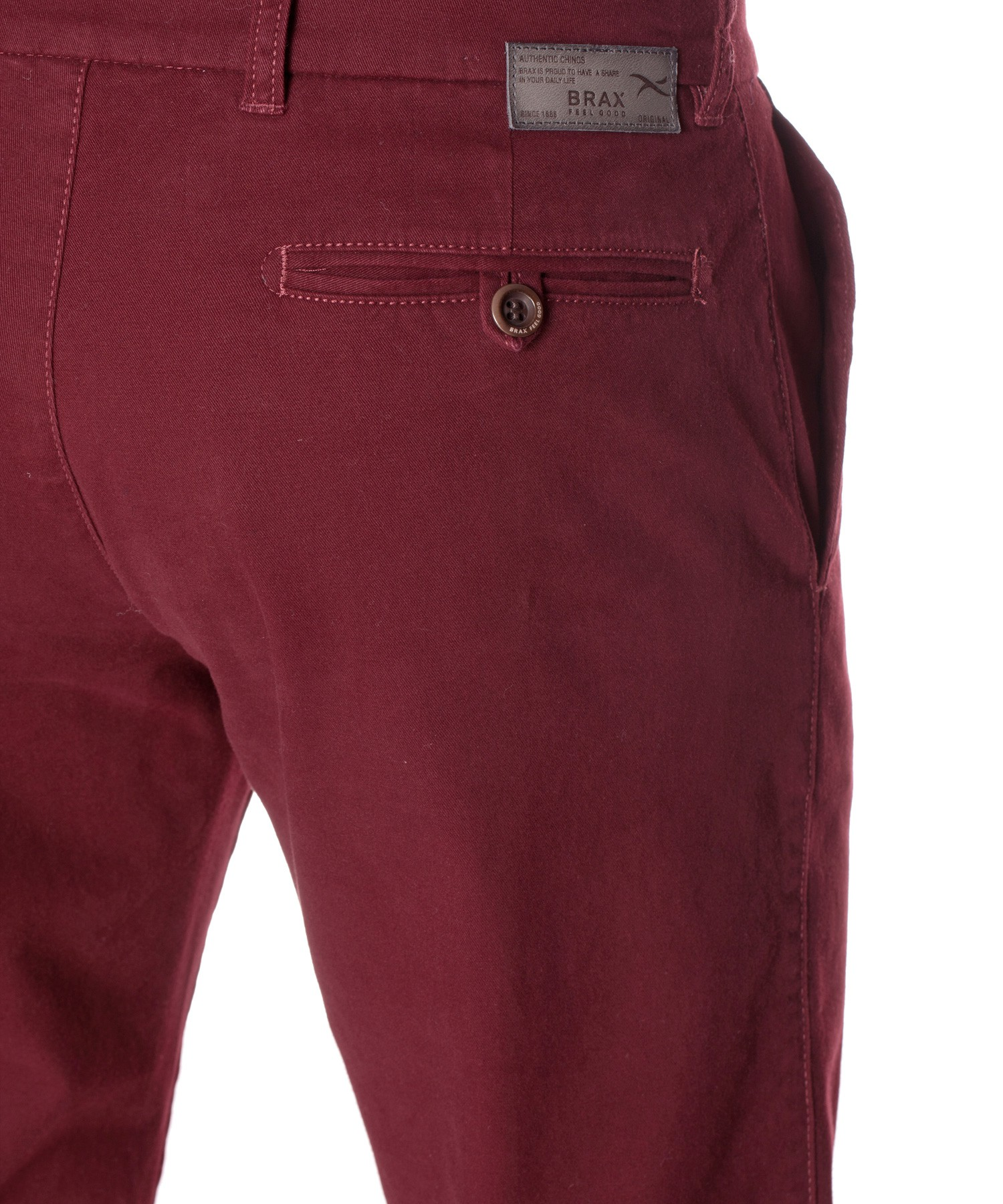 BRAX CHINO FOR MEN ... brax everest flatfront chinos in vineyard ... HTMCZKY