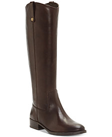 BROWN BOOTS i.n.c. fawne riding boots, created for macyu0027s GRFAXKI
