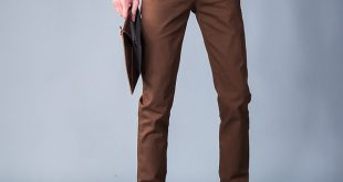 BROWN MENS TROUSERS free shipping men leisure brown pants 2016 spring autumn trousers menu0027s  straight casual pants fashion OBPXGHS