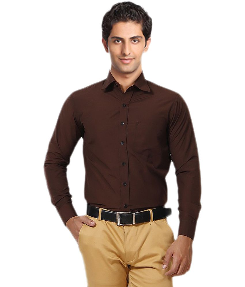 Brown shirts for men unique for men brown shirt GNPNSLI