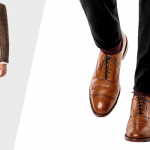 Can you match brown shoes with black pants?