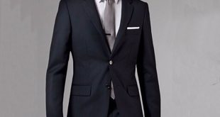Business suits online shop black business men suits custom made, bespoke classic black  wedding suits for men, PMRJVVW
