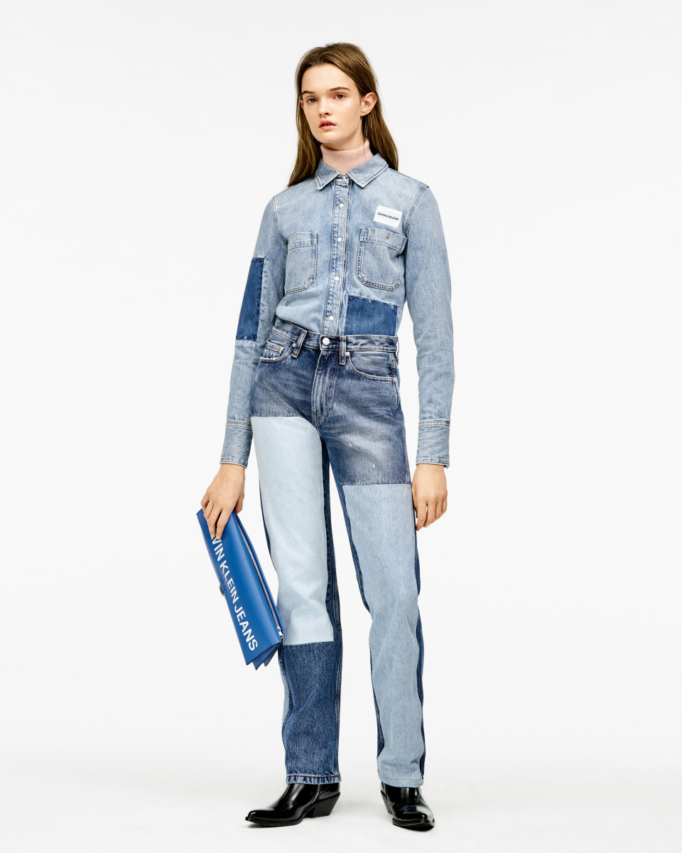 Styling ideas for Calvin Klein jeans