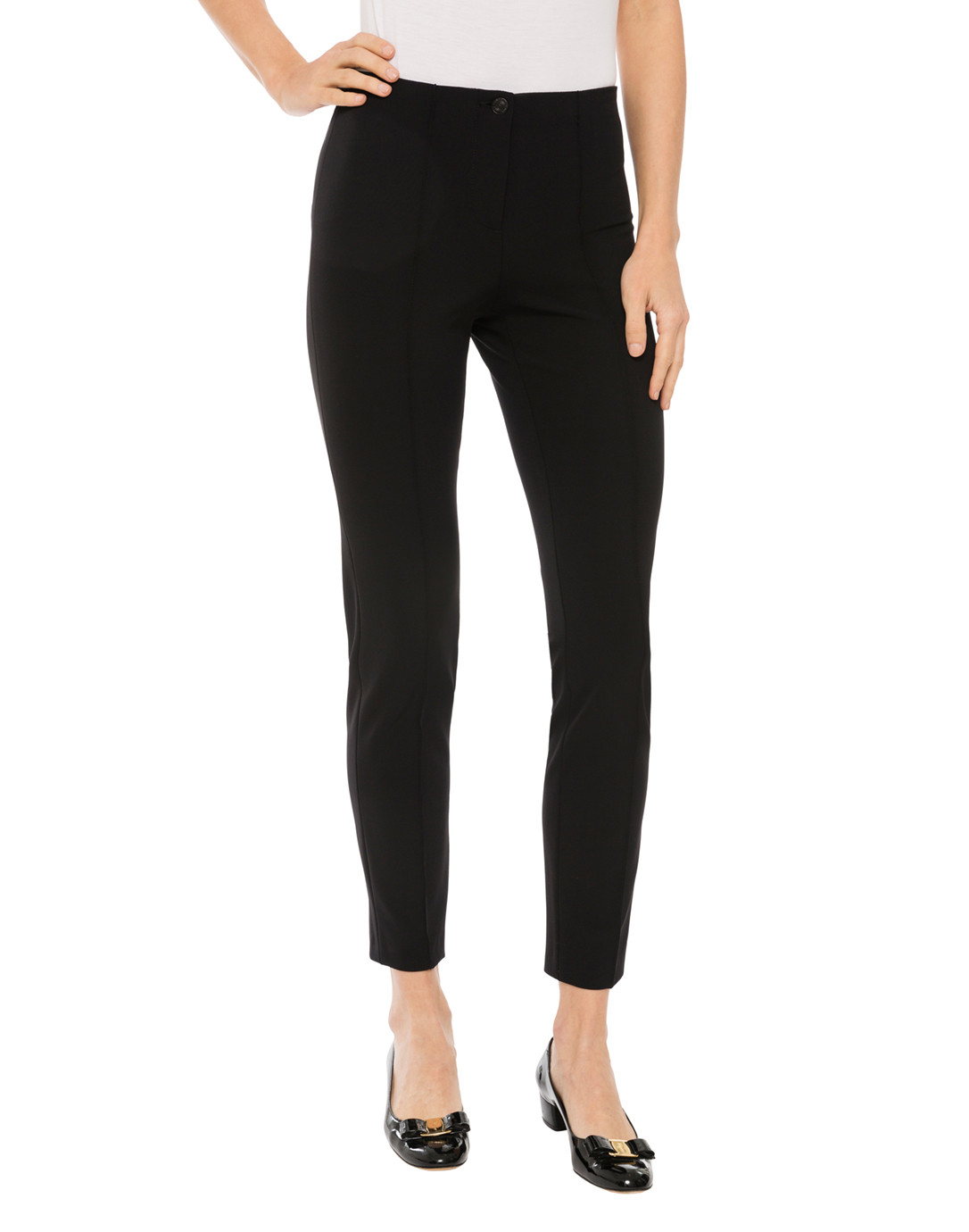 Cambio Ros Pants ros black techno stretch pant TOFRALZ