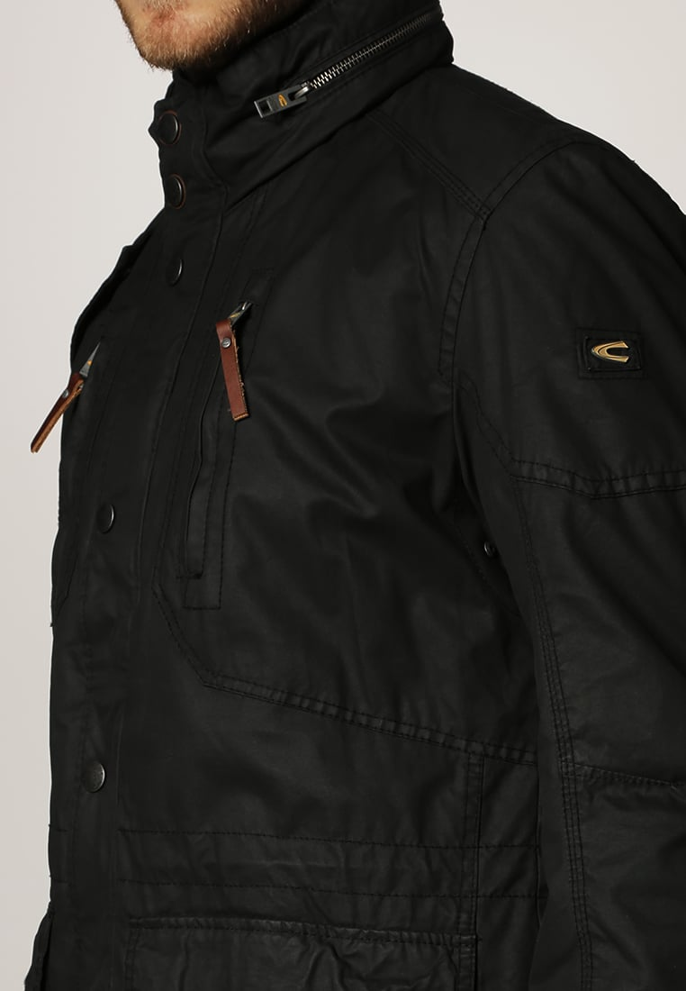 Camel Active Winter Jackets camel active winter jacket - black men winter jackets KGFVUOG