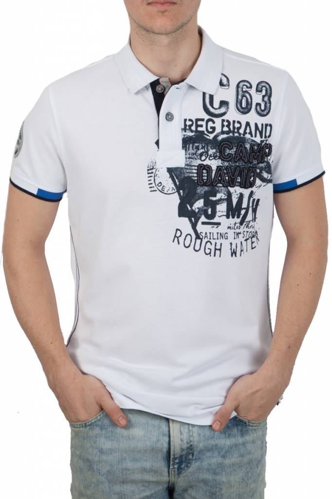 CAMP DAVID POLO SHİRTS camp david ® poloshirt rough water - stateshop fashion IGMNWNN