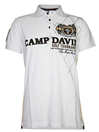 CAMP DAVID POLO SHİRTS camp david men designer polo shirt - golf tournament -xxl YSDAYQR
