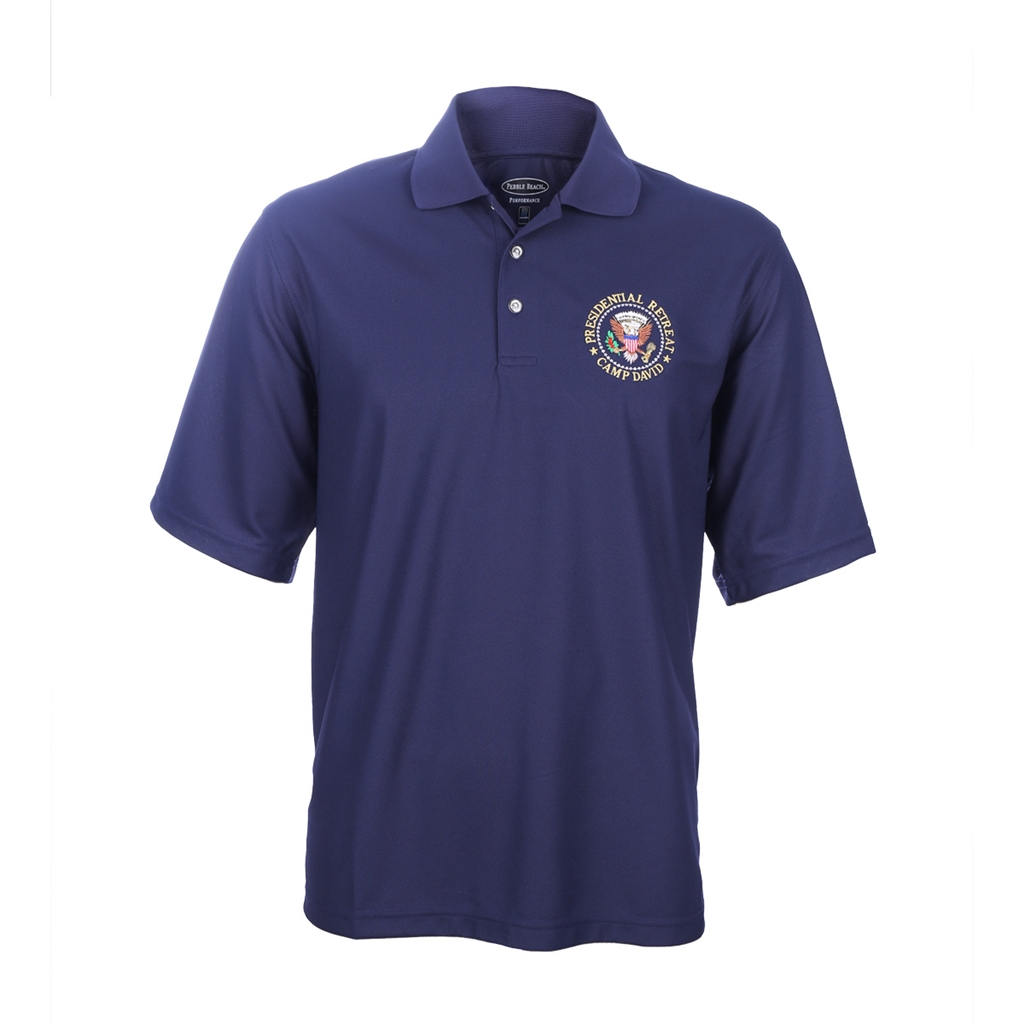 CAMP DAVID POLO SHİRTS camp david presidential retreat polo shirt · larger photo email a friend WBDDBWF