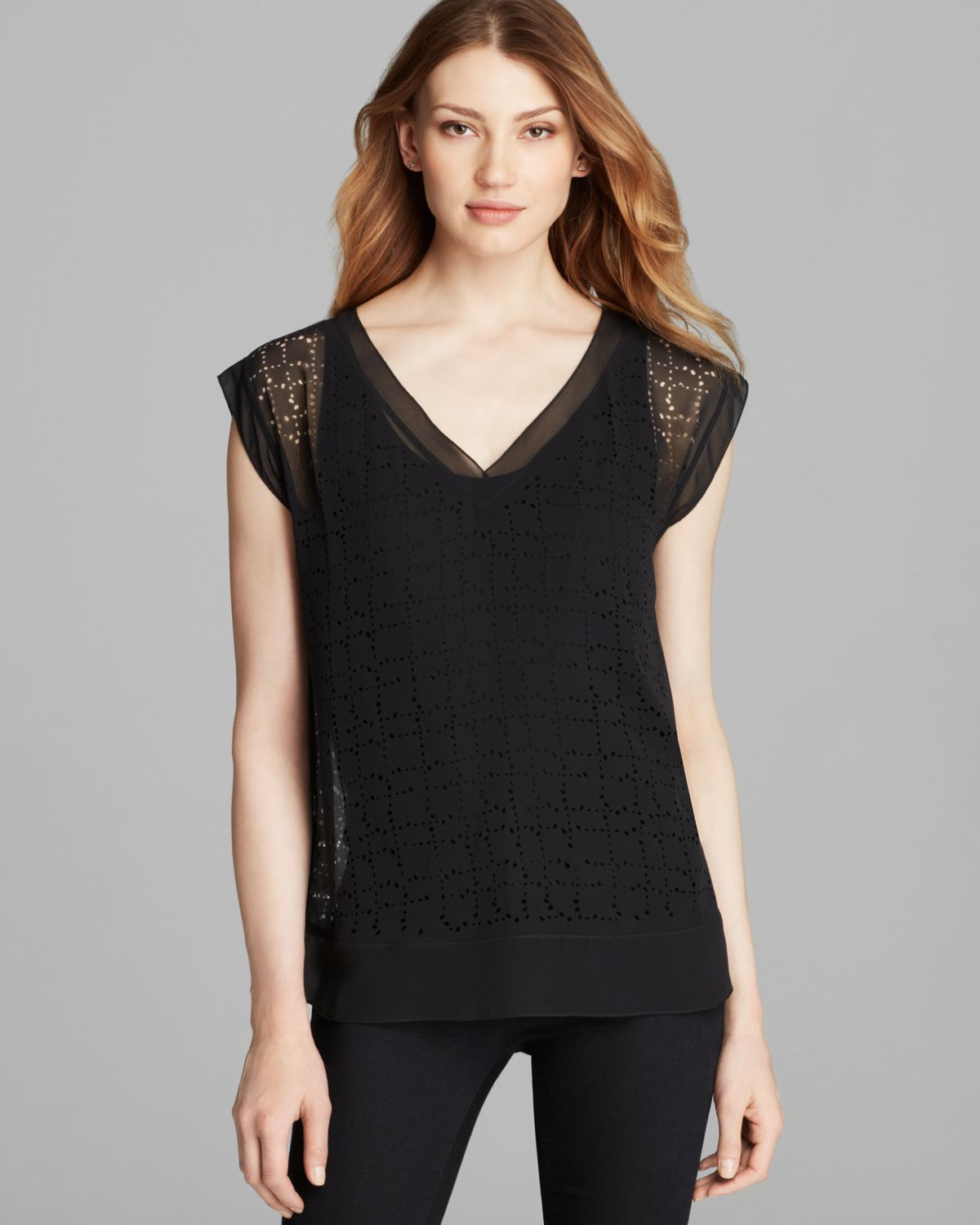 Cap Sleeve Tops –  very special touch