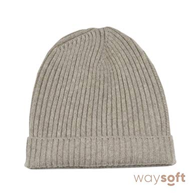 Cashmere Beanie for Women waysoft pure 100% cashmere beanie for women in a gift box by, extra warm ENBZUMK