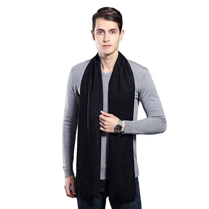 Cashmere scarf for men