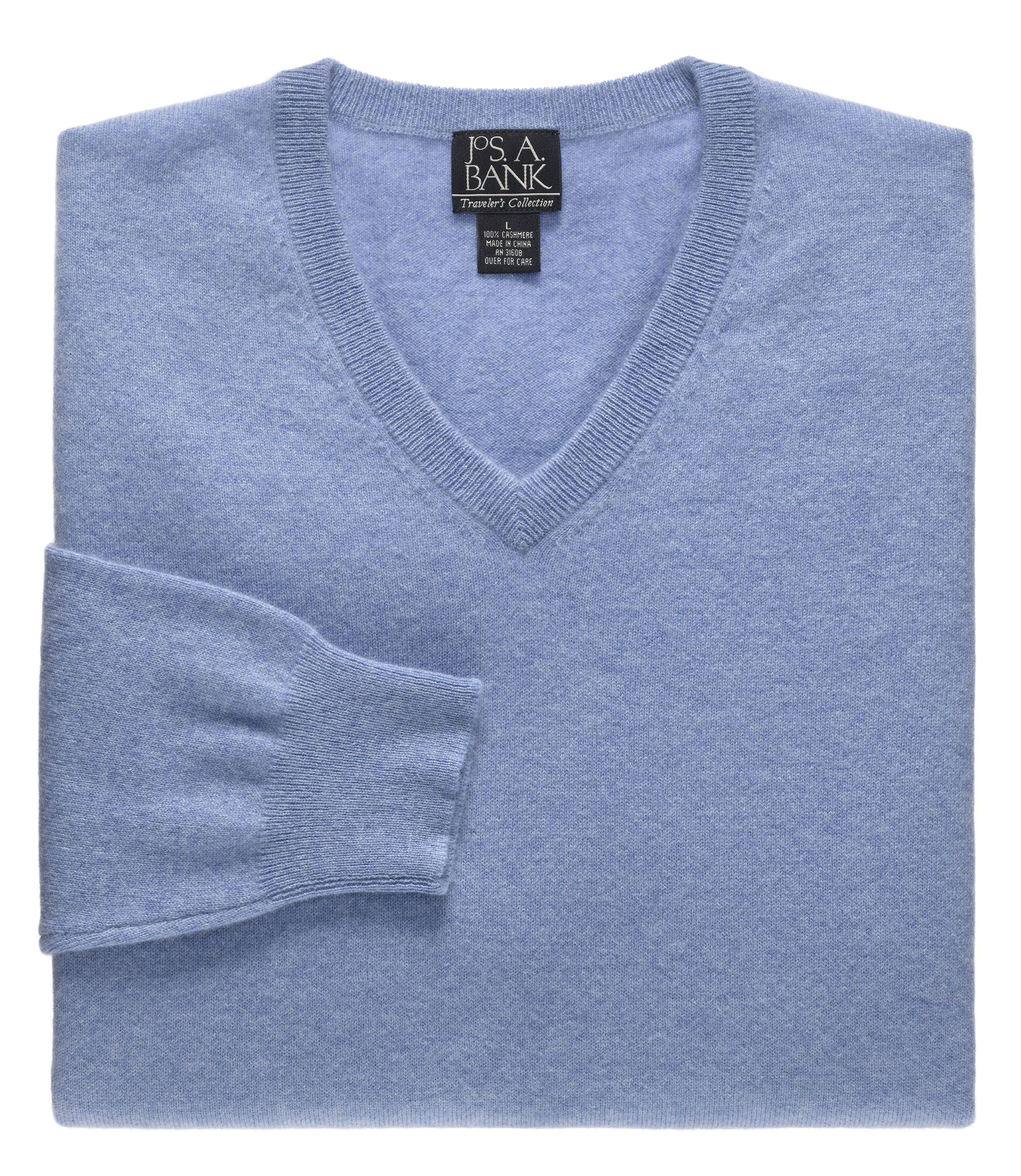 Cashmere sweater traveler collection cashmere v-neck sweater - traveler sweaters | jos a bank OFJOVTY