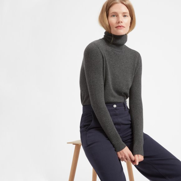 Cashmere turtleneck the cashmere turtleneck - everlane LONXHZP