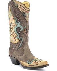 cowboy boots for women vintage cowgirl boots CJLEFRT