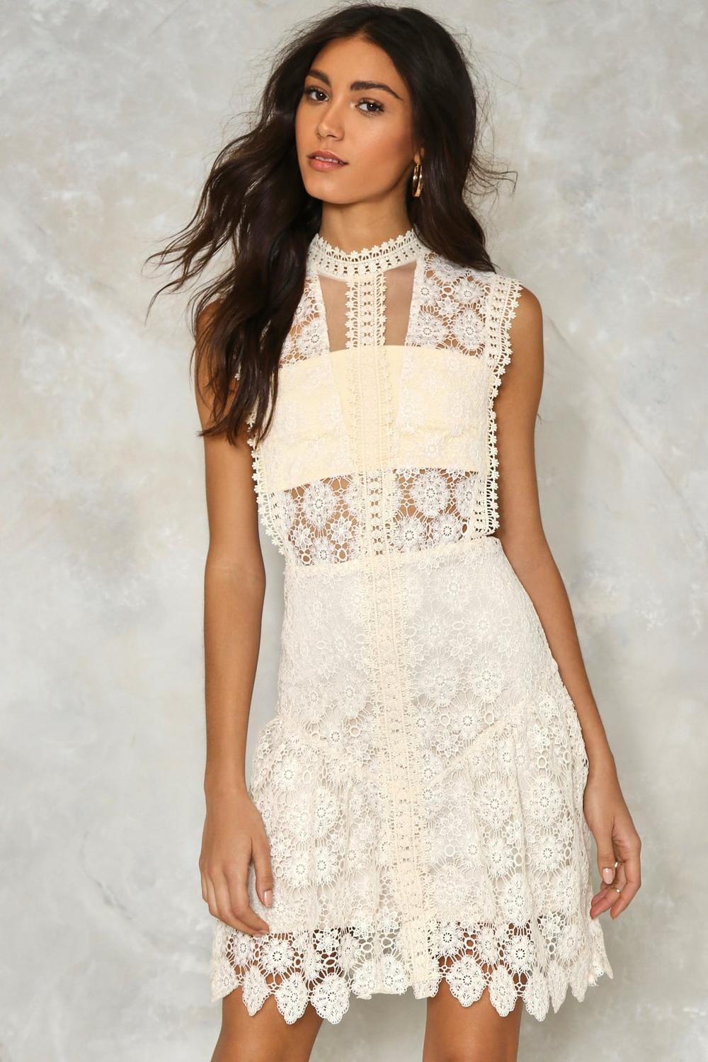 Crochet Lace dress – Fashion with crochet lace
