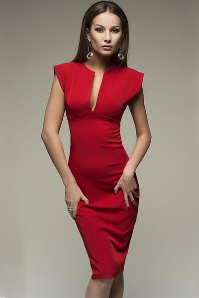 Elegant Pencil Dresses hollywood ending pure color pencil dress APSILYG