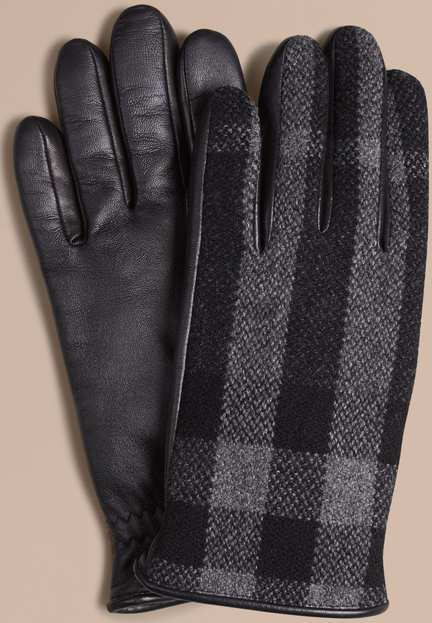 Fashionable gloves burberry SWZMOVR