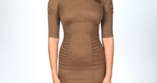 Fitted Dress demi fitted dress | mocha hound touth MVFRFSJ