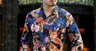 Floral Print Shirts camiseta psg 2017 cashew flower floral print fancy shirts mens see through  shirts transparent mens DWQZVHW