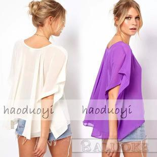 Flowing Blouses 2015 body kimono women tops iexpress women in europe and the through sense BGBYSQA