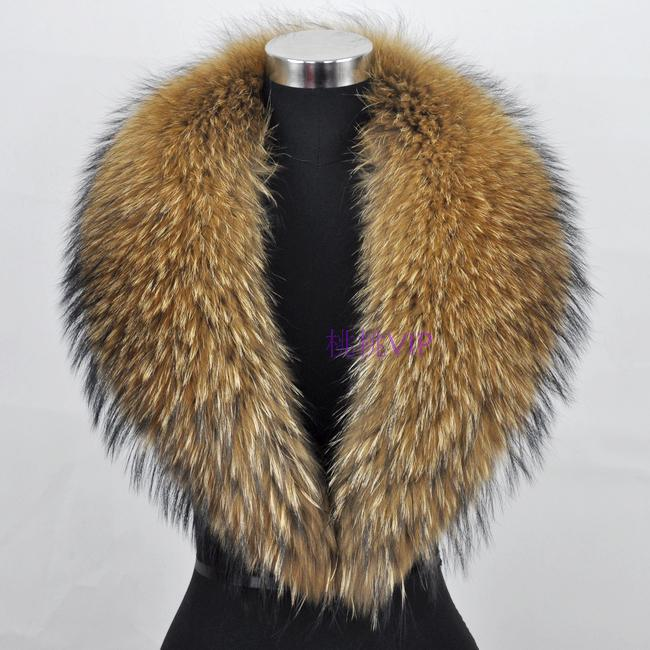 Fur Collar aliexpress.com : buy the real raccoon fur collar fur fox fur collar warm  winter fur VKTTUHD