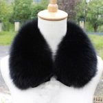 Matching outfit combinations with fur collar