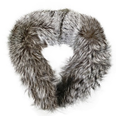 Fur Collar silver fox fur detachable collar XIJBLPU