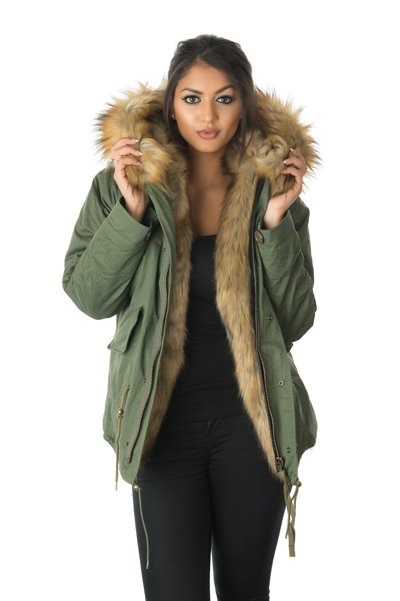 Fur Parkas – Decorative on the outside and warmth on the inside