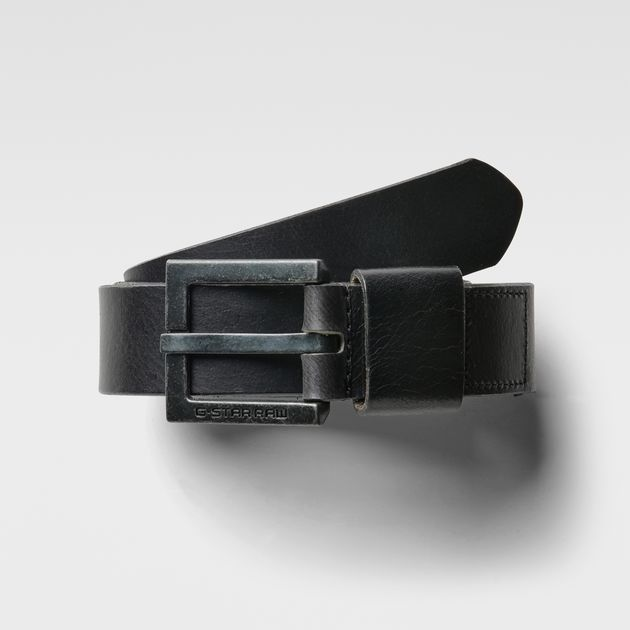 G-STAR BELT duko belt | black | g-star sale men | g-star raw® EWSZBVY