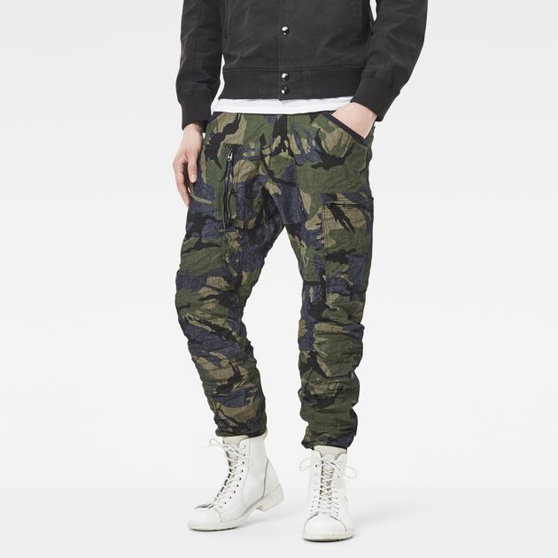 G-STAR PANTS powel 3d tapered cuffed pants | g-star raw® URFAHFU