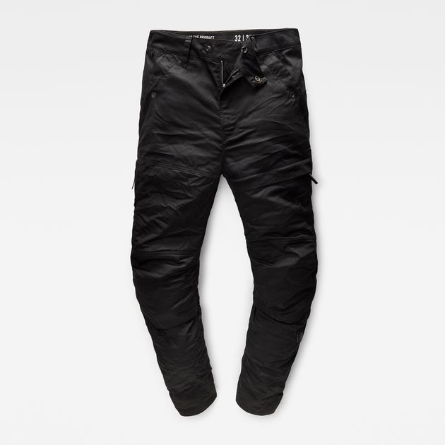 G-STAR PANTS rackam tapered cargo pants | dk black | g-star raw® VGYDQZU