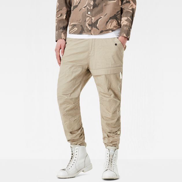 G-STAR PANTS rackam tapered cargo pants | khaki | g-star raw® IVMUGIG