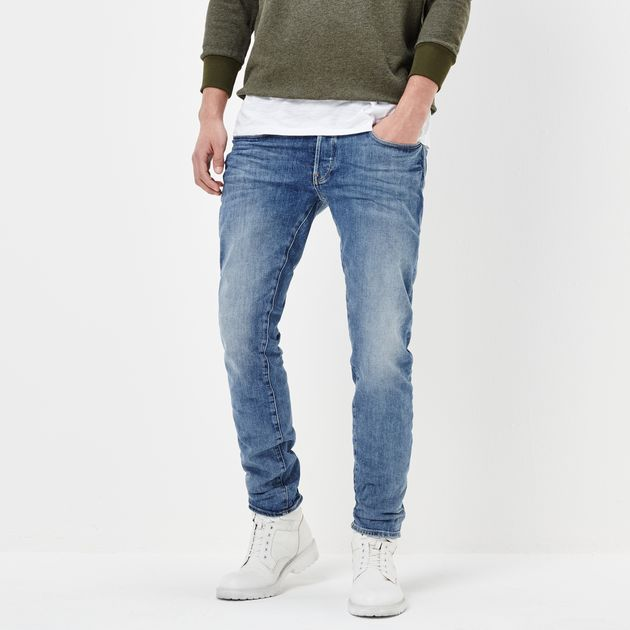 G-STAR RAW MEN'S JEANS 3301 slim jeans | lt aged | g-star sale men | g-star raw® JDRGUAC