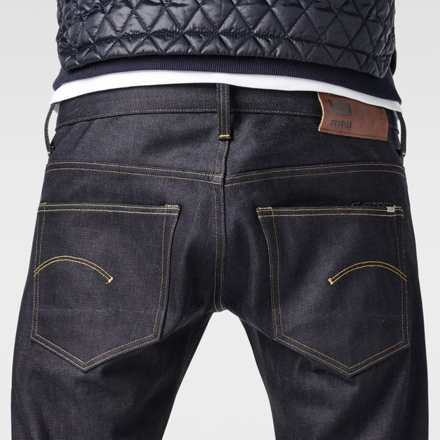 G-STAR RAW MEN'S JEANS 3301 straight jeans | raw denim | g-star sale men | g-star raw® TKTAMWX