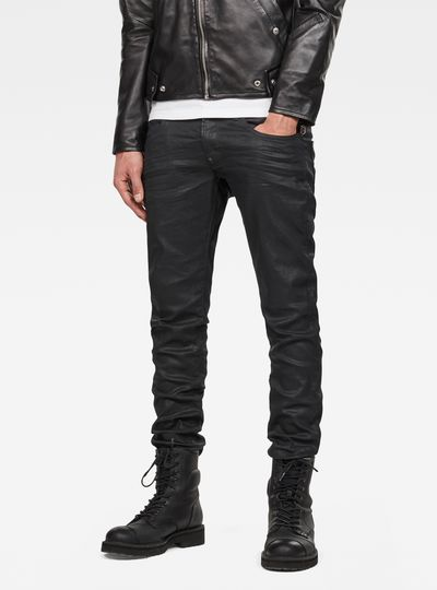 G-STAR RAW MEN'S JEANS revend skinny jeans OVCRUAW