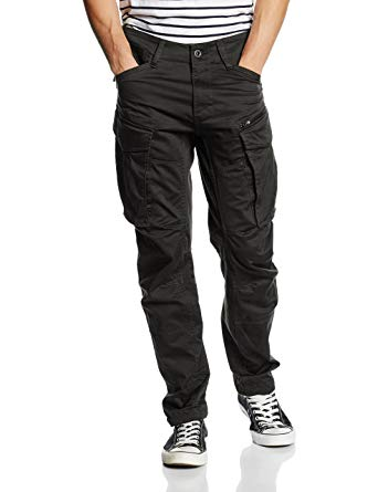 G Star Rovic Pants g-star menu0027s rovic zip 3d tapered cargos, black, 35w x 34l JNZMQRC