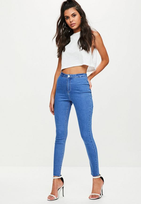 high waist jeans ... high waisted skinny jeans. previous next VXXRGZV