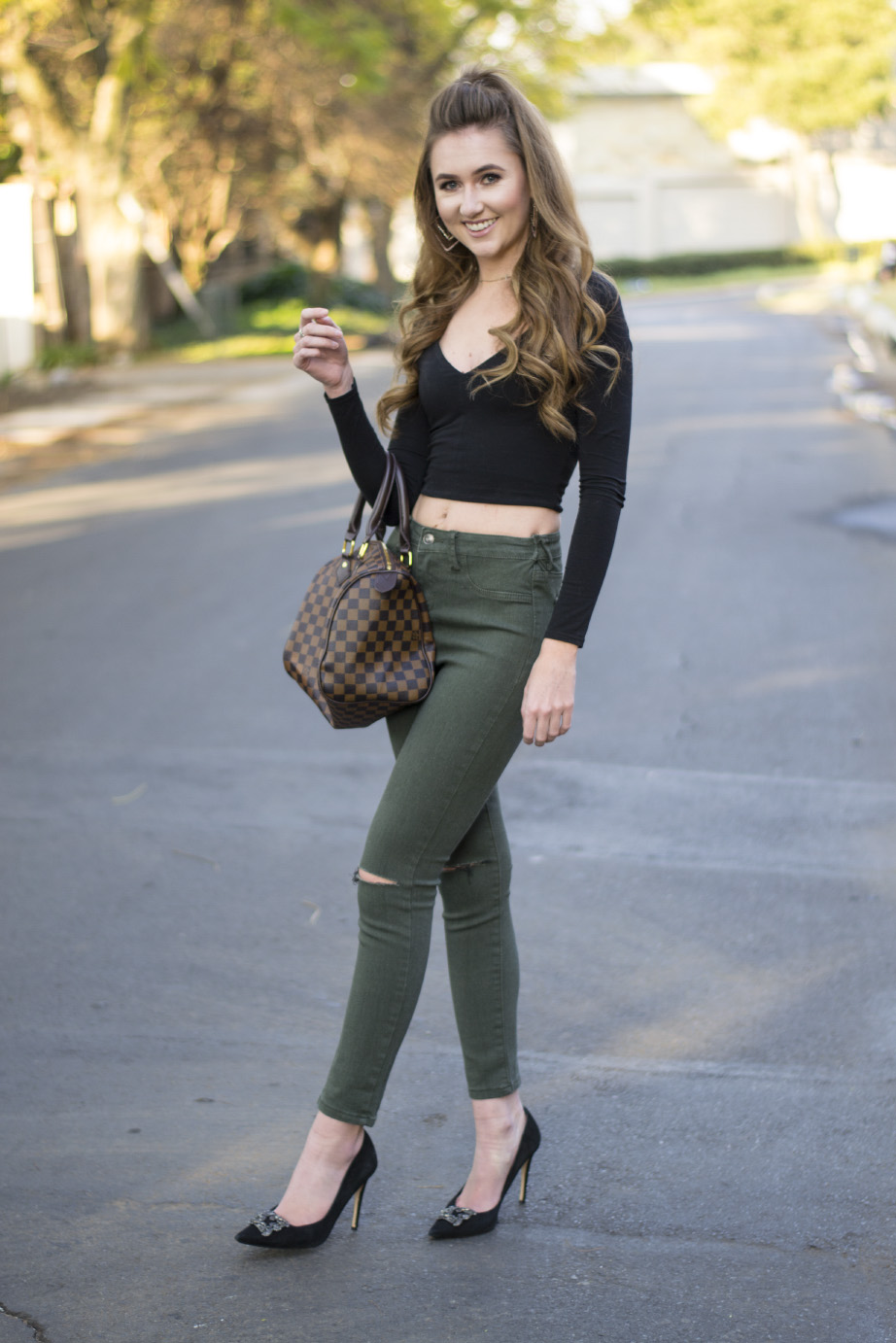 high waist jeans with crop top 1-modern-and-stylish-high-waisted-jeans-and-. crop top ... KEWKYNQ